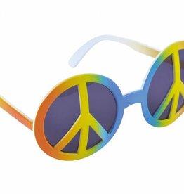 Bristol Novelty Ltd. Hippie bril vredesteken