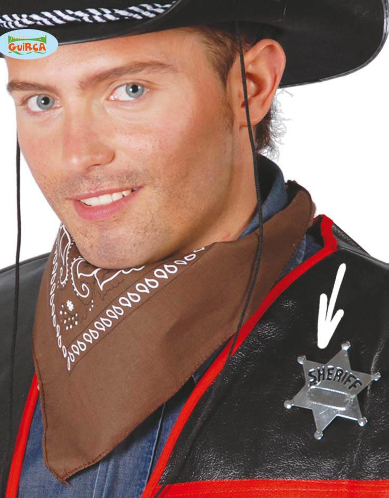 FIESTAS GUIRCA metalen sheriff ster