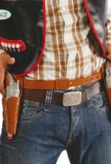 Dubbel revolverzak met 2 revolvers