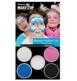 FARAM thema set prinses roze blauw