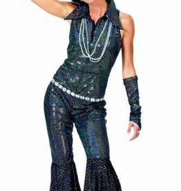 ESPA Jump Zwart Glitter huurprijs € 20