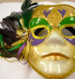 ESPA goud venetiaans masker  pluim opzij
