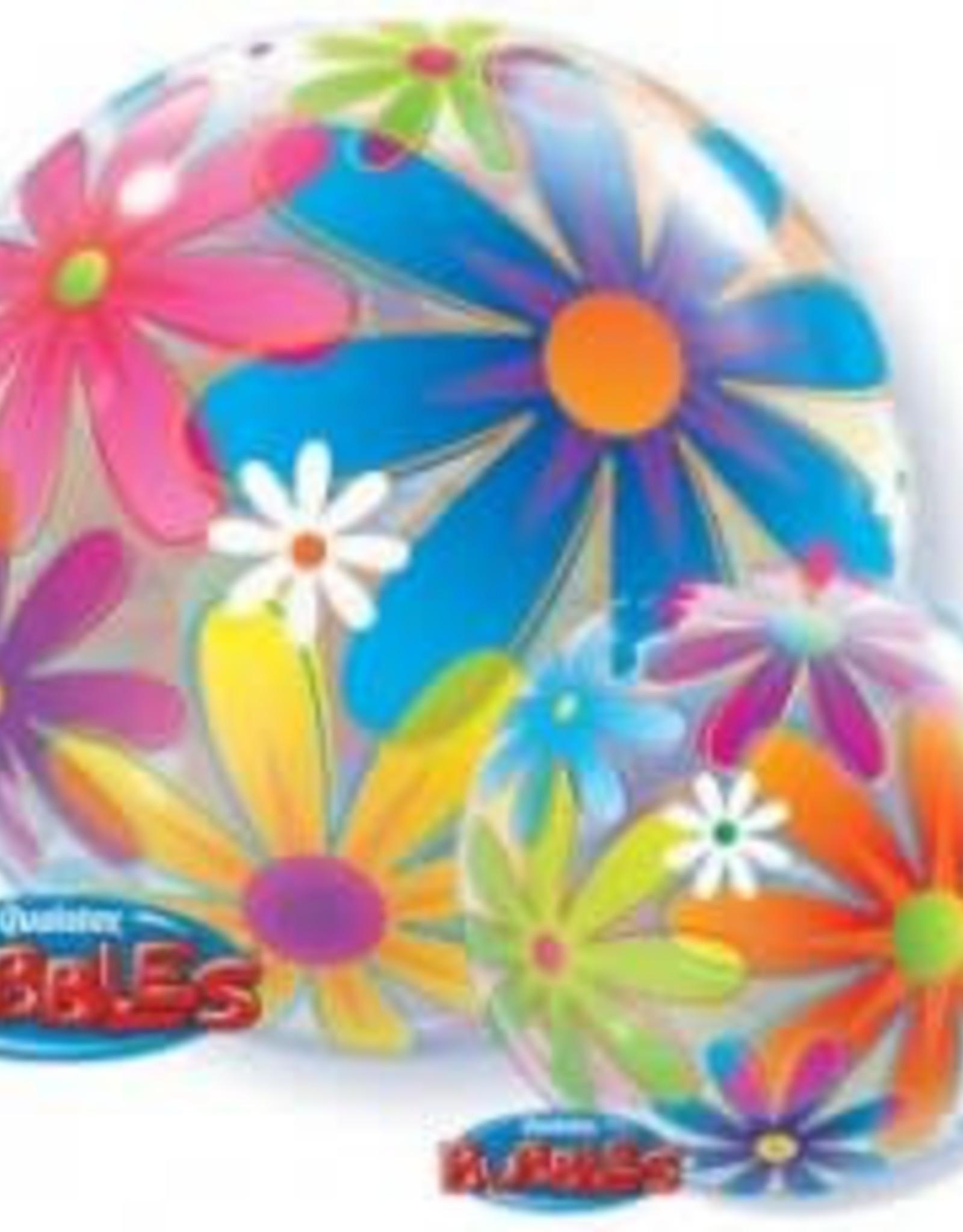 Sempertex avalloons bubbles balloon bloemen