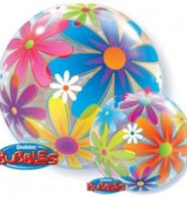 Sempertex avalloons bubbles balloon bloemen