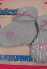 IBS folie baby sokjes jongen met helium
