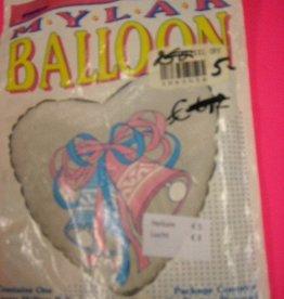 IBS folie huwelijksklokken met helium