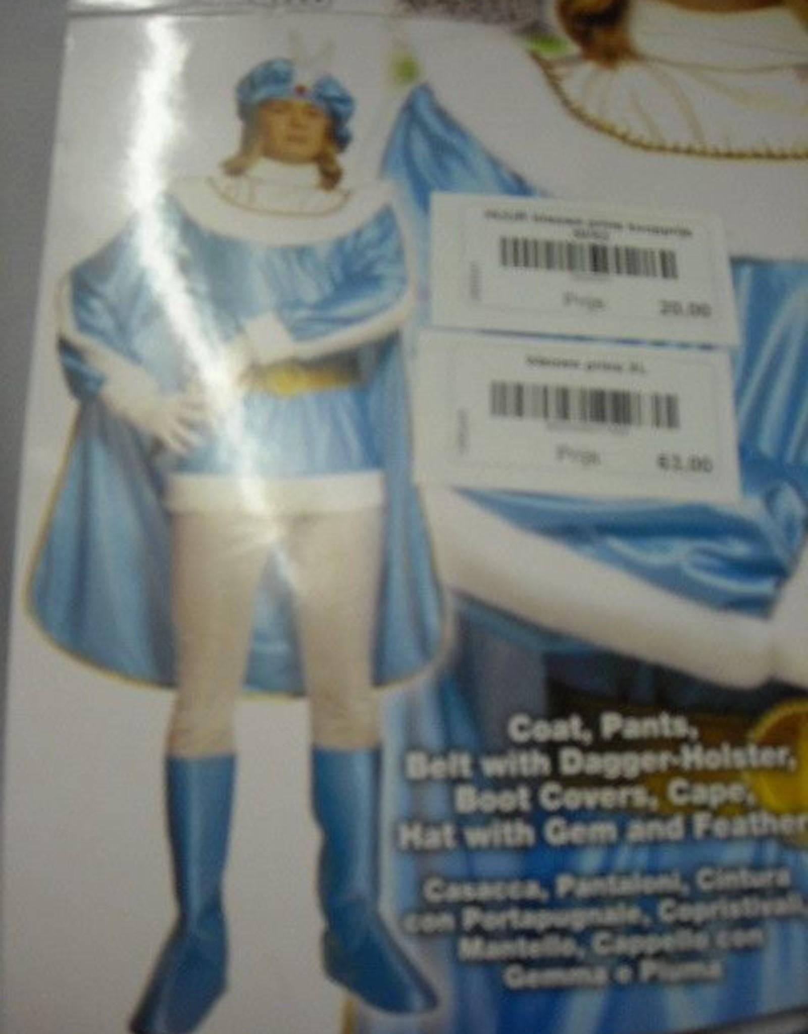 Cremers blauwe prins XL huurprijs € 20