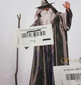 Cremers tovenaar met baard en haar huurprijs € 25