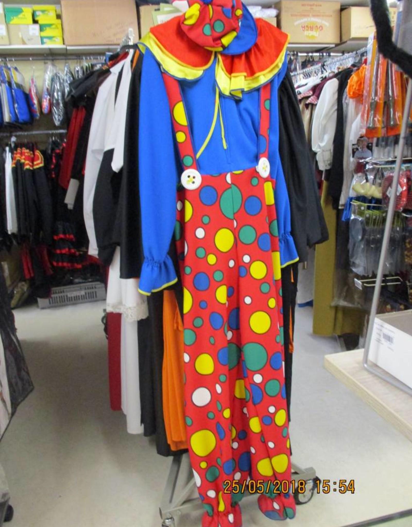 Wimmers clown dames huurprijs € 15