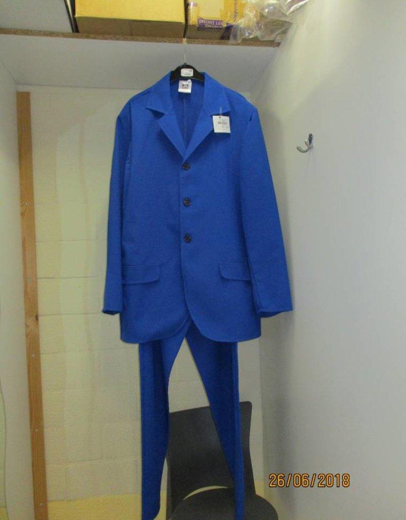 MAGIC blauw kostuum 56