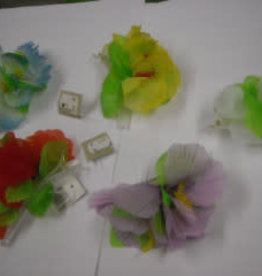 MAGIC bloem voor in haar blauw kaartje