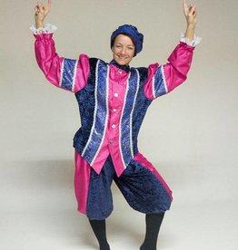 MAGIC Zwarte Piet marine blauw-fushia Q dagprijs 30