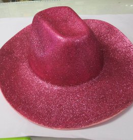 Pano glitter hoed cowboy
