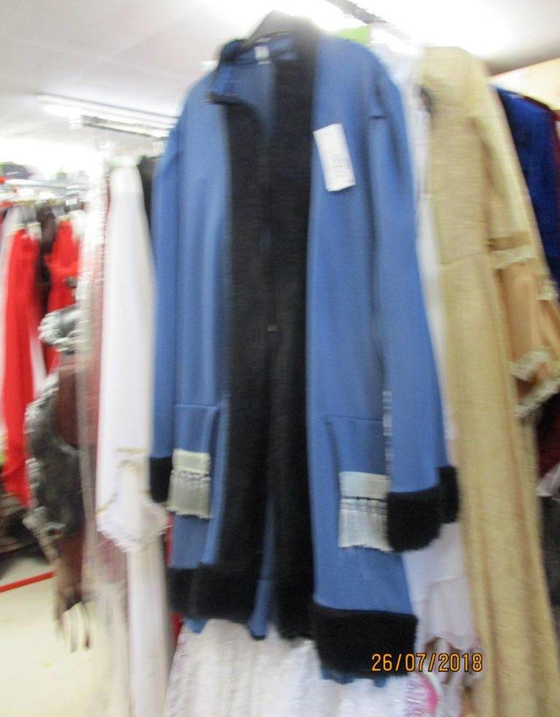 blauw vest L