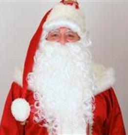 FARAM pruik en baard luxe kerstman