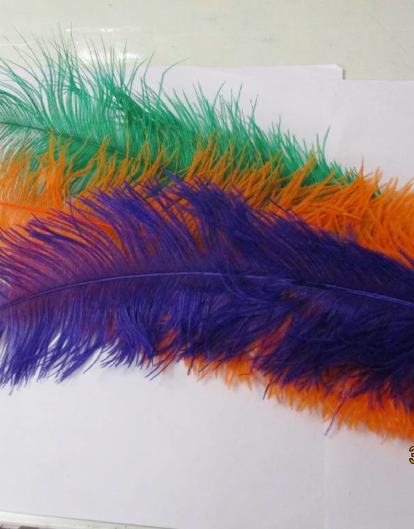 geen struisvogel pluimen vershillende kleuren -+ 65cm