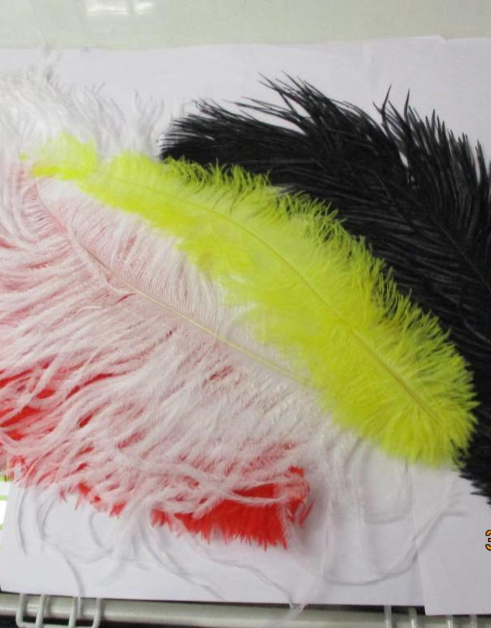 geen struisvogel pluimen verschillende kleuren -+40cm