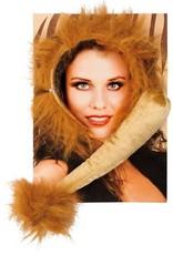 WITBAARD leeuw set