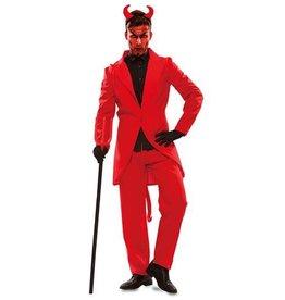 WITBAARD kostuum duivel huurprijs 20