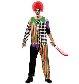 WITBAARD griezel clown man