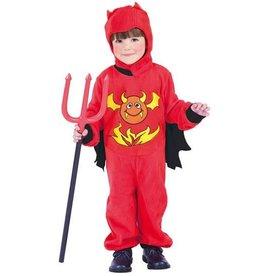 WITBAARD Duivel Jumpsuit 10-12 jaar