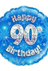Sempertex avalloons folie verjaardag 90 met helium