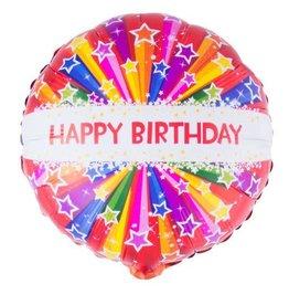 ESPA folie happy birdhay ster helium
