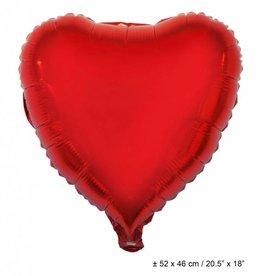 ESPA folie rood hart met helium