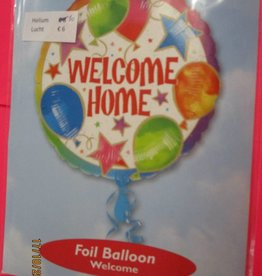 IBS folie welcome home met helium