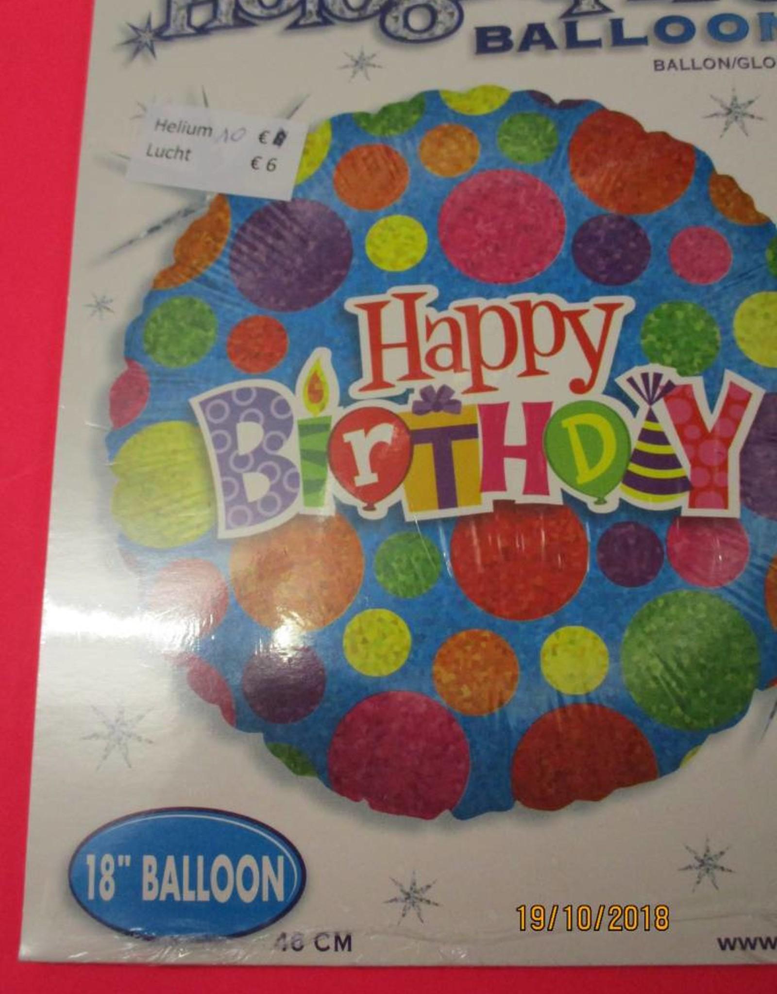 Sempertex avalloons folie verjaardag bollen met helium