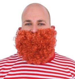 WITBAARD korte baard roodbruin
