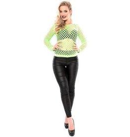 WITBAARD damesshirt gaten fluor groen