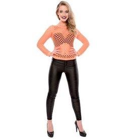 WITBAARD damesshirt gaten fluor oranje