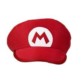 WITBAARD pet loodgieter rood M (Mario)
