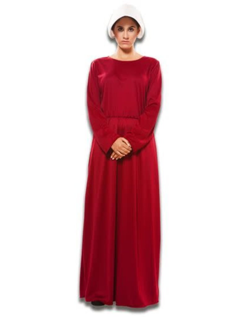 WITBAARD Handmaid's Tale jurk M/L huurprijs 20
