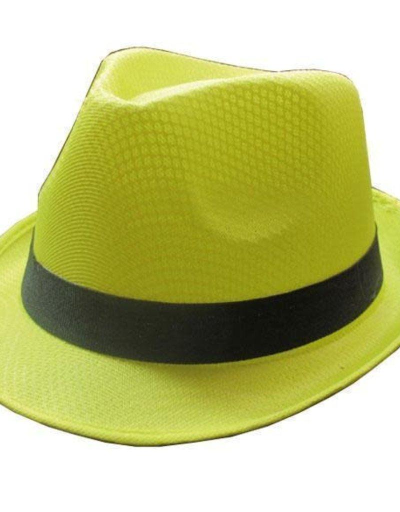 FARAM zomerhoed neon geel