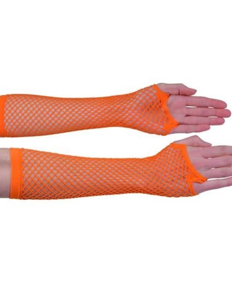 WITBAARD nethandschoenen oranje