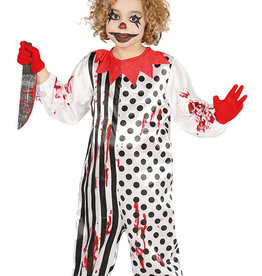 FIESTAS GUIRCA zombie clown 10/12 jaar