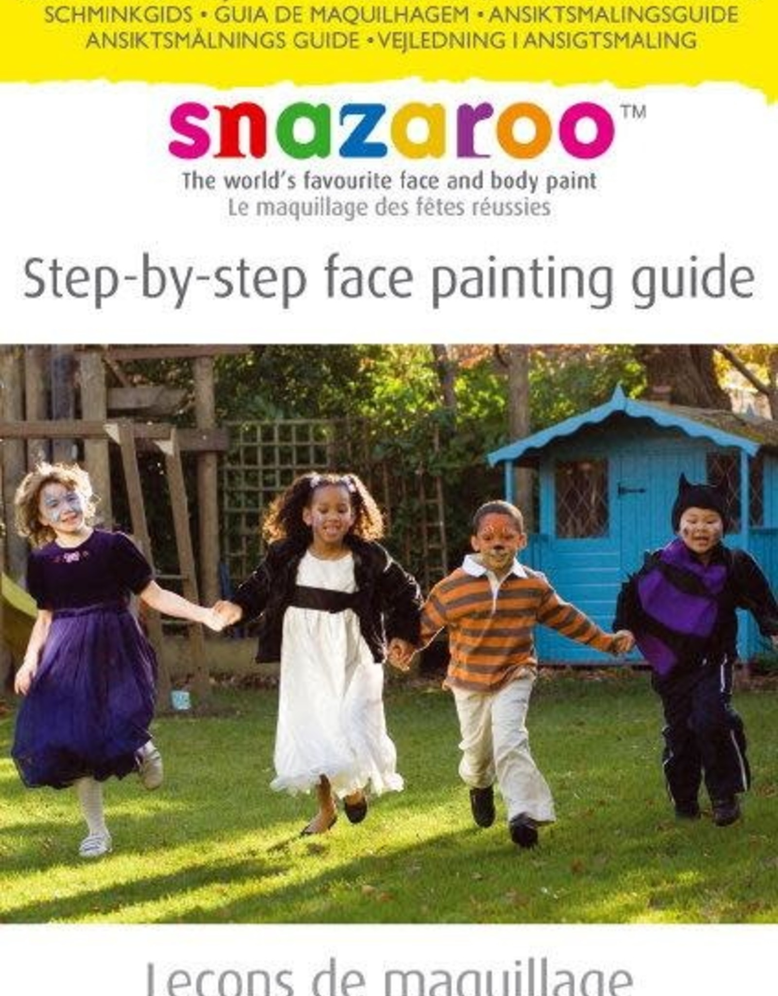 Snazaroo boek snazaroo STEP-BY-STEP