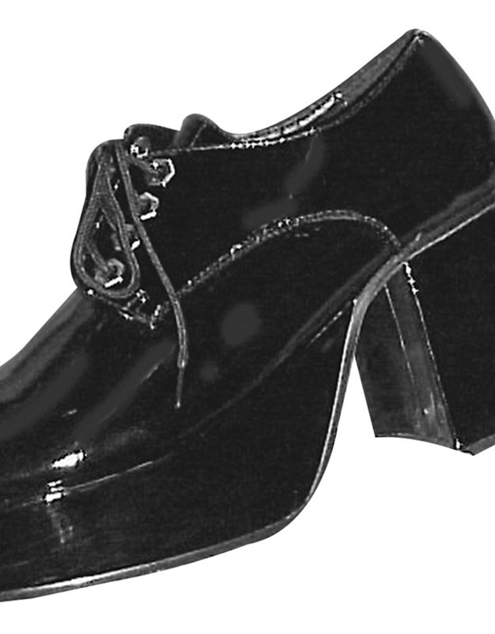 Bristol Novelty Ltd. platformschoenen zwart 44-45 huurprijs 20