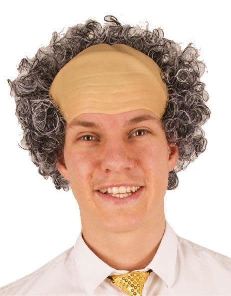 FARAM kaalkop met grijs haar