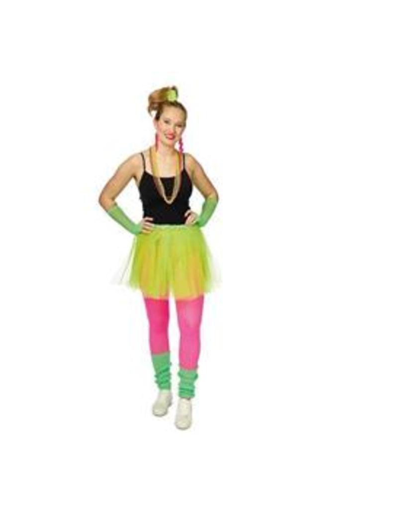 FARAM neon set dames groen