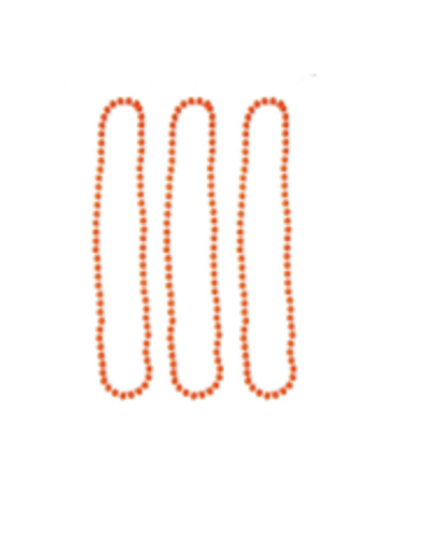 ESPA 3 halskettingen fluo oranje