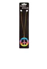 FARAM halsketting peace kleuren