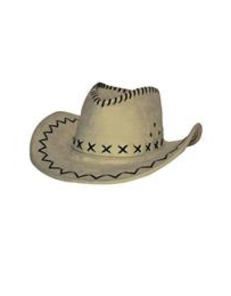 FARAM cowboy hoed licht bruin