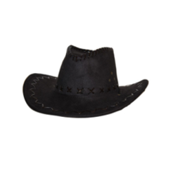FARAM cowboy hoed zwart