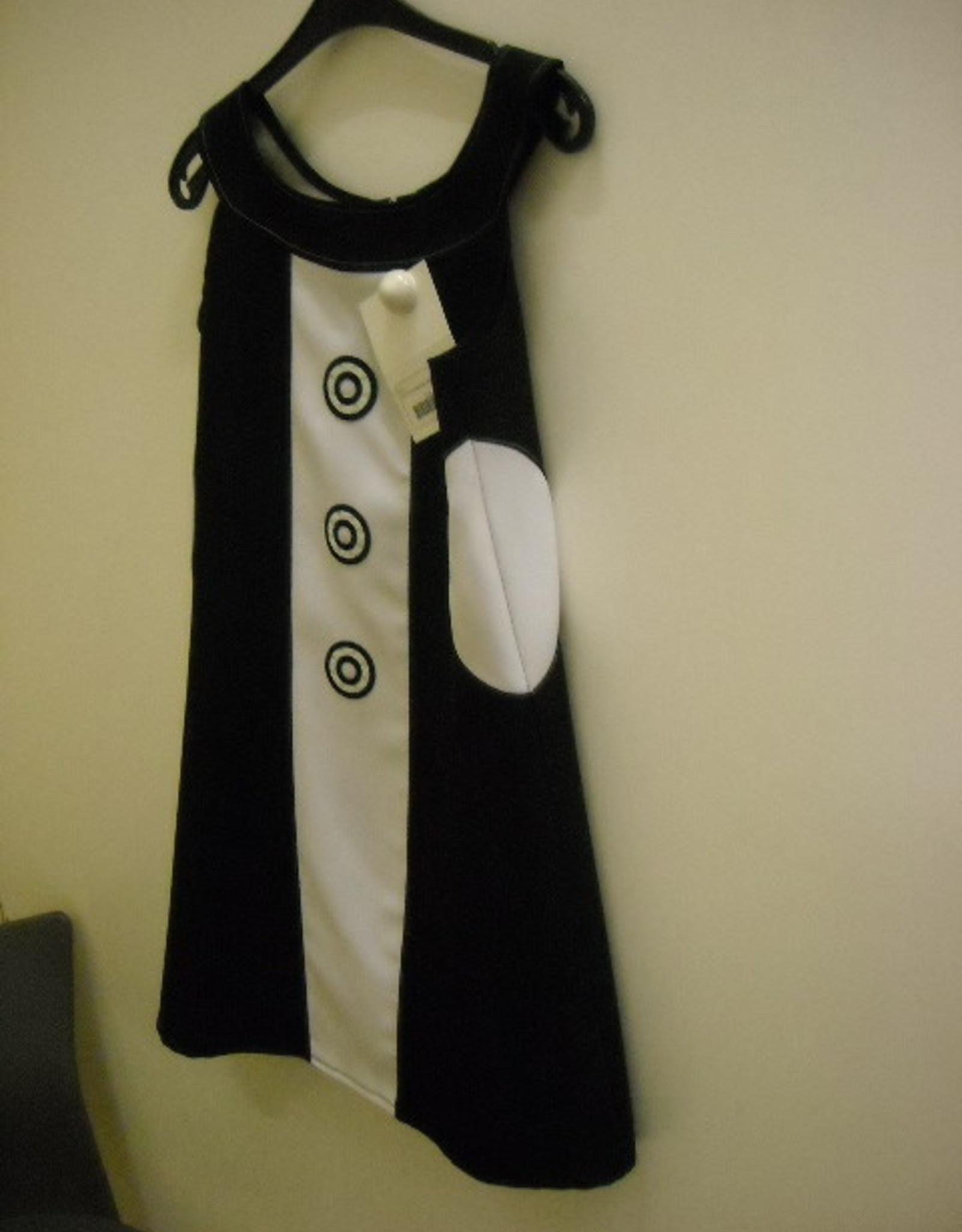 MAGIC discokleedje wit zwart 164