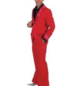 MAGIC disco kostuum rood XL en S huurprijs 20