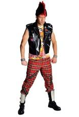 MAGIC punk vest met decoratie huurprijs 20 S