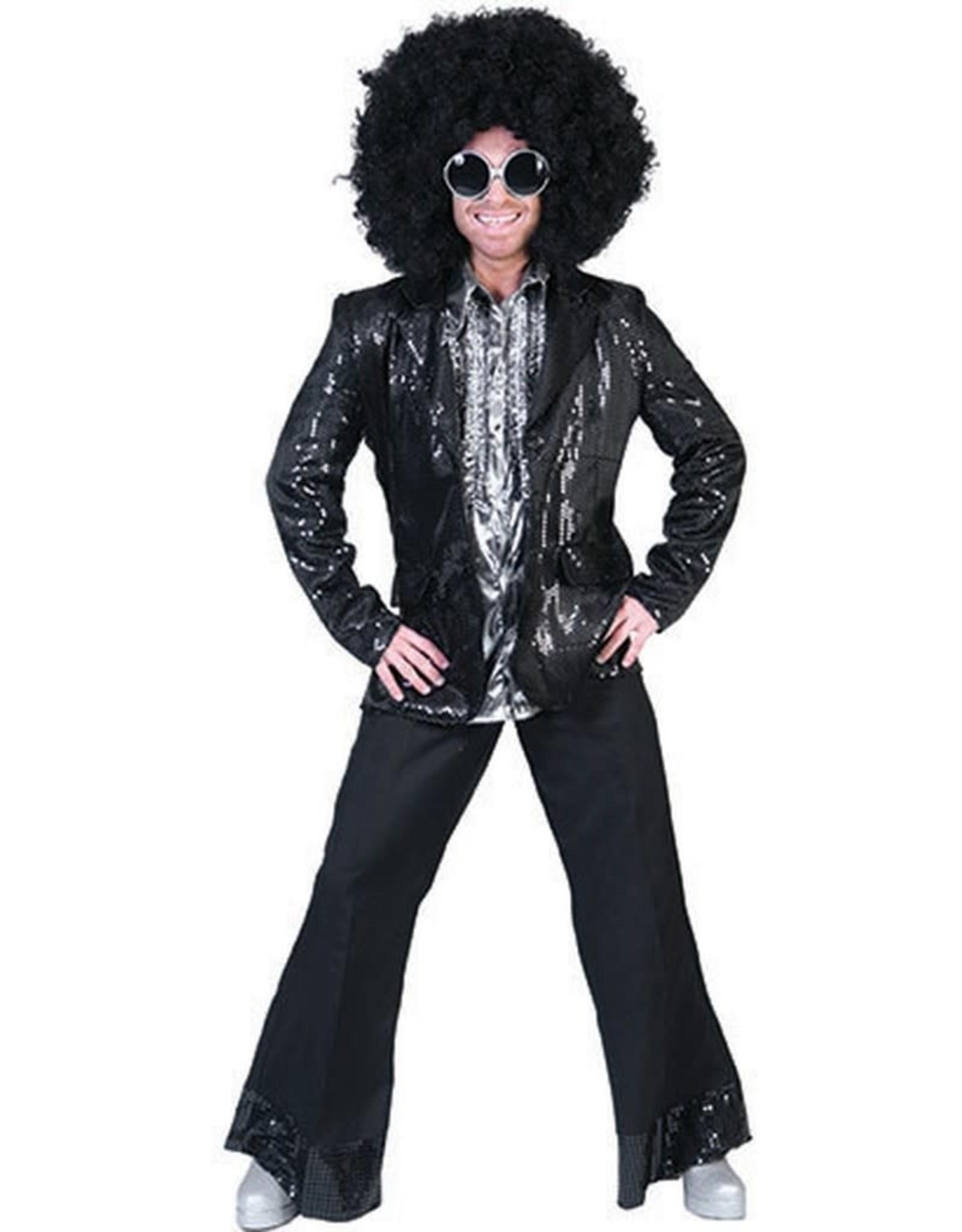 ESPA vest glitter zwart 48-50